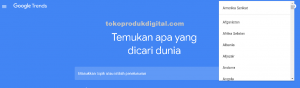 halaman google trends