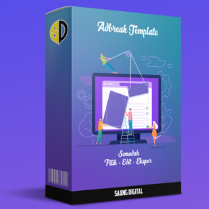 jual adbreak template